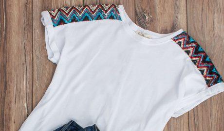 modne t-shirty z nadrukami