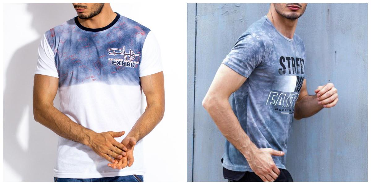 T-shirty męskie na co dzień