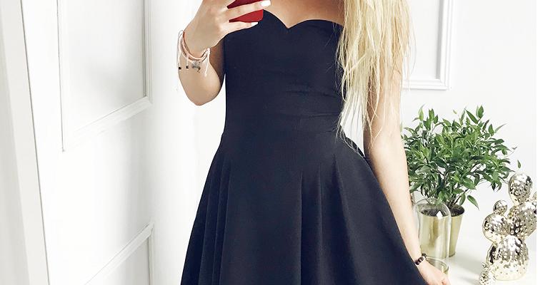 czarne sukienki na wesele