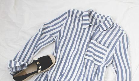 bluzki w paski
