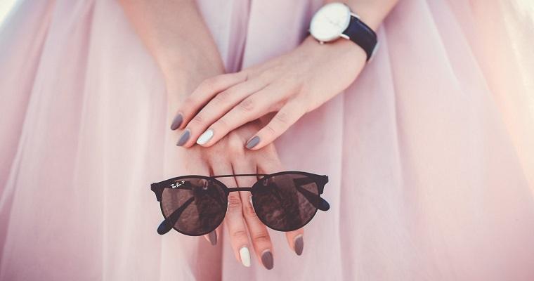 stylowy manicure hybrydowy