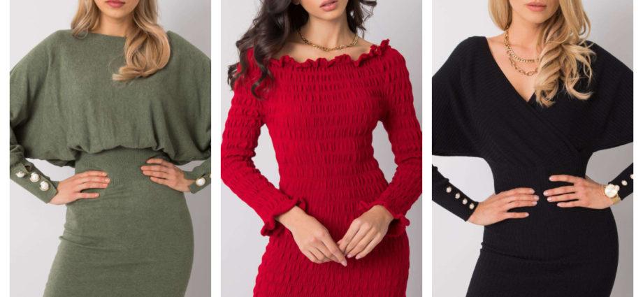 Sukienki one size w klasycznych kolorach