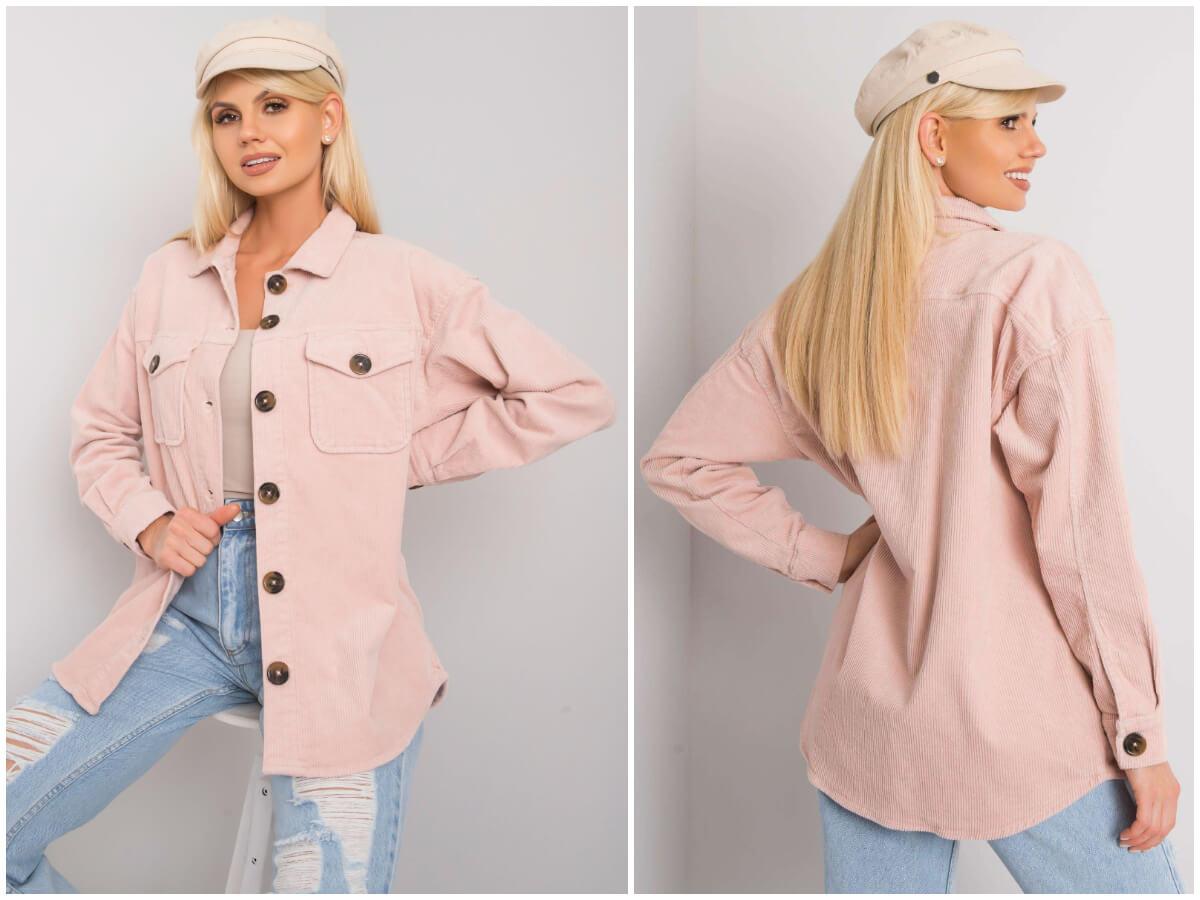Koszulowe kurtki sztruksowe są hitem tegorocznej jesieni