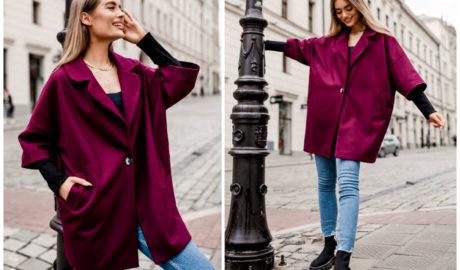 Sprawdź modne tej jesieni ubrania w kolorze marsala