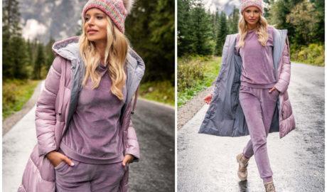 Odkryj welurowe komplety damskie jako modny homewear